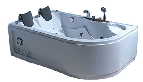 SIMBA Vasca Bagno IDROMASSAGGIO ANGOLARE 2 Persone Nuova 170 X 115 CM Interno 2 Persone Nuova Bat tub Whirlpool Pool Bade