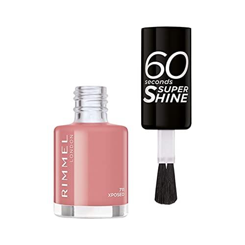 Rimmel Smalto Per Unghie 60 Seconds Super Shine Colour Block 711 Xposed - 8Ml