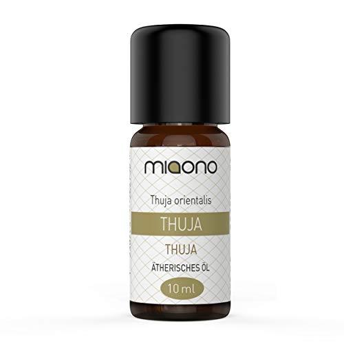 Olio essenziale di Thuja – 100% naturale, 10 ml di miaono (bottiglia di vetro)