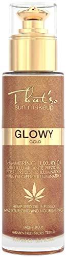 That'so Glowy Gold - Olio Secco Idratante Con Effetto Brillante Glitter Dorato - 100 ml
