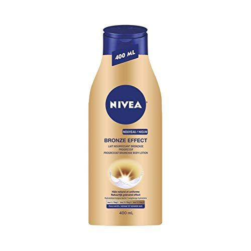 Nivea effetto bronzo Latte Nutriente Abbronzante Graduale Pelli opachi 400ml