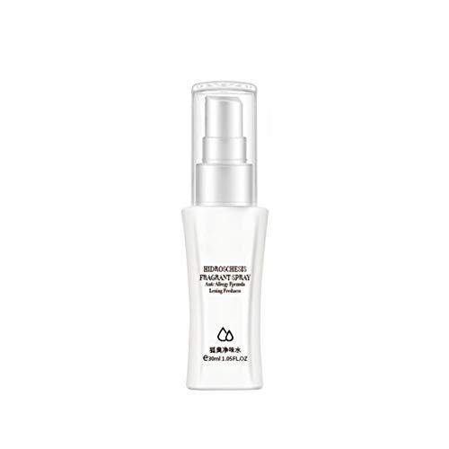 Woorea Spray antitraspirante da 30 ml di Lunga Durata Che previene la Sudorazione Spray Deodorante antiodore per Uomo e Donna