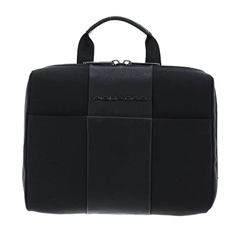 Beauty case Piquadro brief 2 necessaire con gancio BY3058BR2 nero