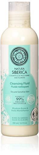 Natura Siberica Fluido Detergente Struccante Viso, per Pelli Secche e Sensibili - 200 ml