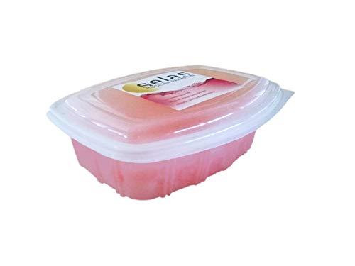 Paraffina di rosa canina 1.250ml (980g) Selas. Per trattamenti terapeutici ed estetici di mani e piedi.