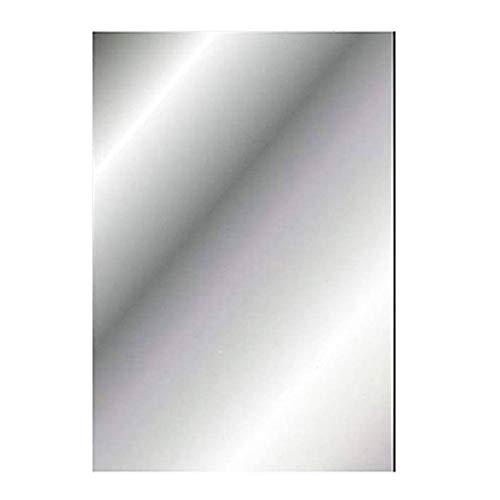 Nanaous - 1 adesivo da parete a specchio, 40 x 70 cm, decorazione natalizia, specchio flessibile, fogli in materiale morbido, specchio adesivo non in vetro per casa, soggiorno camera da letto
