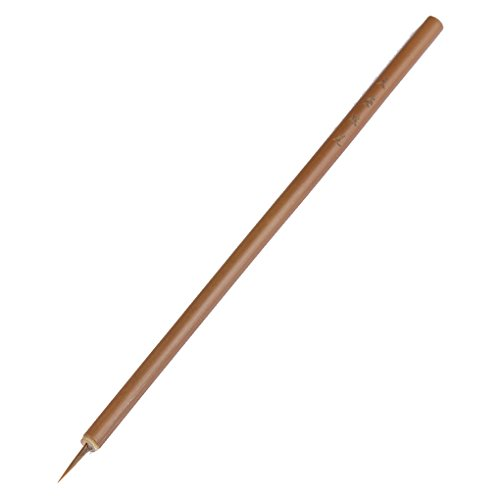 Bobury 1 pz BQAN Acrilico Nail Art Paint Painting Brushes Piccola Spazzola Strumenti per unghie Bamboo Pen Brush Nail Art Strumento FAI DA TE Manicure 13mm