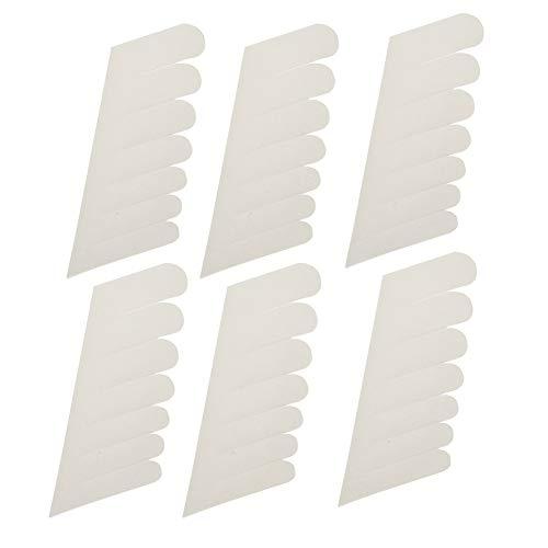 Nail Wrap - Adesivi per unghie in seta adesiva Adesivi per unghie in gel trasparente per unghie