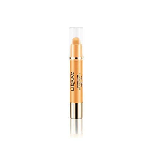 Lierac Sunissime Stick Contorno Occhi SPF50 Anti Età, Protezione UVB, UVA, Infrarossi, per Tutti i Tipi di Pelle, Formato da 3 g