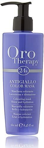 Fanola Oro Therapy Color Mask Antigiallo Maschera Capelli - 250 Ml