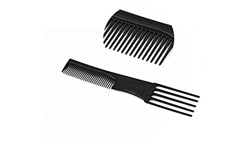 Pettine per Styling per capelli con denti a coda anti groviglio e antistatico. Per utilizzo da Salone Parrucchiere - Ottimo anche per uso Domestico per Uomini e Donne