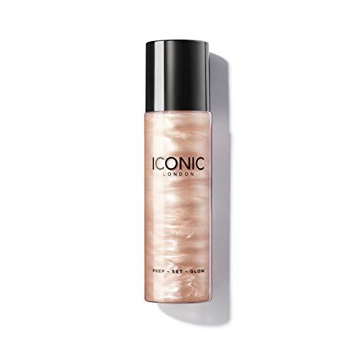 ICONIC London Prep-Set-Glow Spray Illuminante, Rinfrescante e Idratante, Original, 120ml