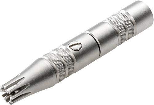 REMOS Rifinitore naso e orecchie inossidabile - senza batterie - lunga durata