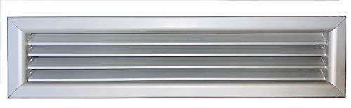 Griglia bocchetta ripresa alluminio aria calda fredda diffusore 400x300 mm