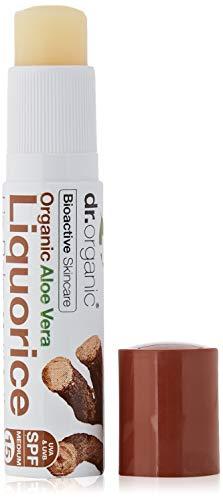 Dr.Organic Aloe Vera Balsamo Labbra alla Liquirizia 5,7 ml