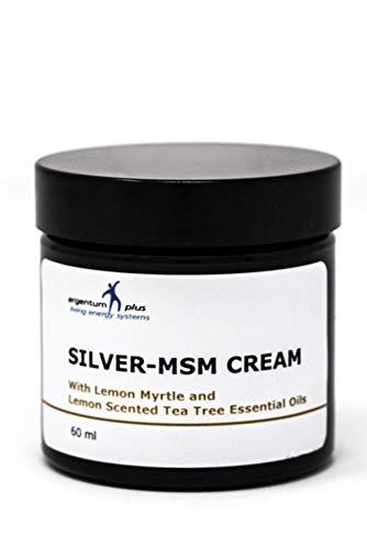La crema Argento-MSM con olii essenziali di limone mirto e albero di tè al limone - 60 ml