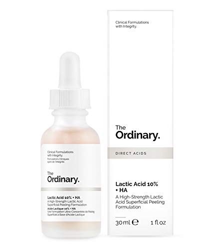 The Ordinary - Acido lattico 10% e acido ialuronico 10%, siero esfoliante 30 ml