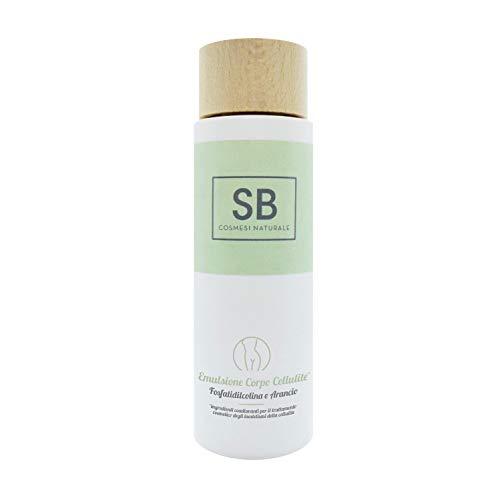 Seta Beauty Emulsione Cellulite con Fosfatidilcolina e Arancio 200ml. Idratante e Tonificante per pelli secche, grasse e sensibili
