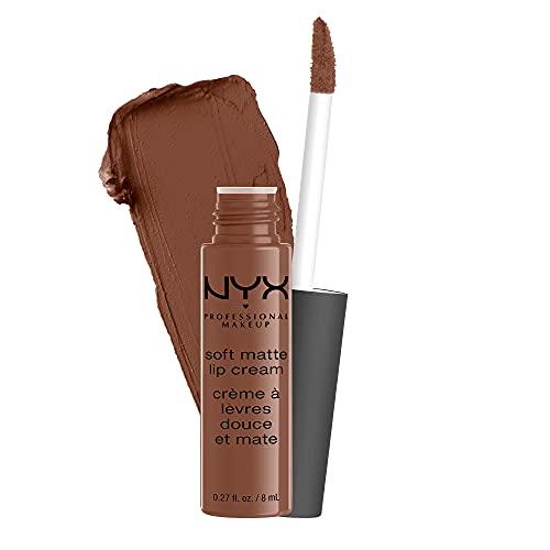 NYX Professional Makeup Soft Matte Lip Cream, Finish matte e cremoso, Colore extra-pigmentato, Long Lasting, Tonalità: Berlin