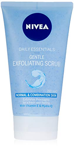 Nivea Daily Essentials Gentle Esfoliante Viso Scrub, 150 ml