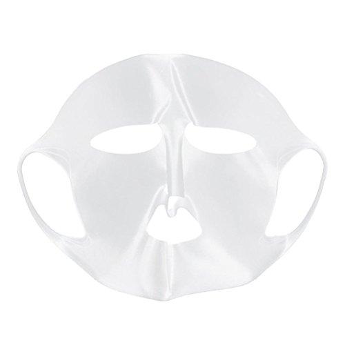 ROSENICE Maschera Viso Idratante Foglio Maschera Copertura Impermeabile Riutilizzabile