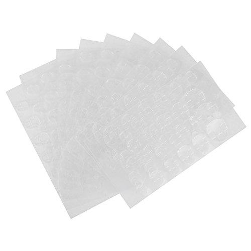 Suggerimenti per unghie Adesivo biadesivo Nails adesivi autoadesivi Nastro adesivo biadesivo trasparente