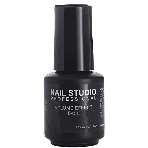 Nail Studio - Volume Effect Base - Base Rimpolpante e Livellante Per Smalto Semipermanente Per Coprire Le Imperfezioni Delle Unghie - Formato 7 ml