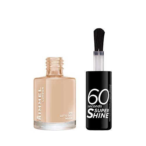 Rimmel London 60 Seconds Super Shine #513-Let´S Get Nude - 8 Ml