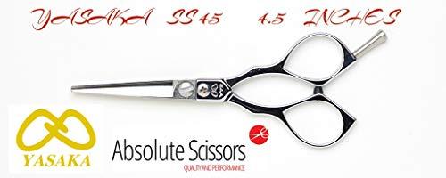 Yasaka SS45 Forbici da parrucchiere Taglia 4.5 Pollici Cobalto ATS314