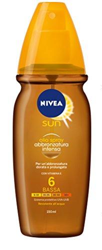 Nivea Sun Olio Spray Abbronz.Intensafp6 150Ml