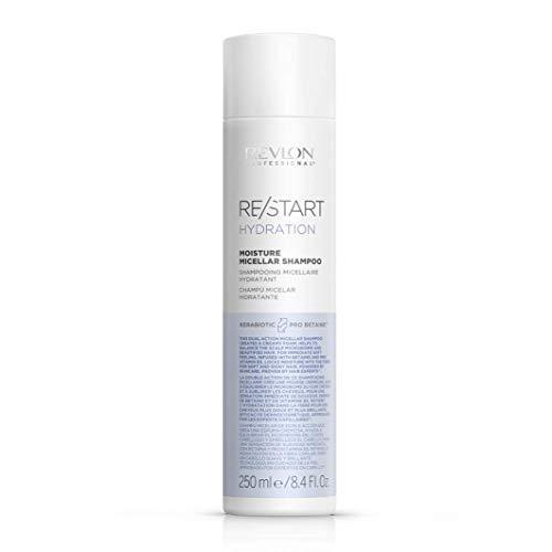 Restart Shampoo Micellare Capelli Secchi e Crespi Moisture Micellar Shampoo Idratante Professionale - 250 ml
