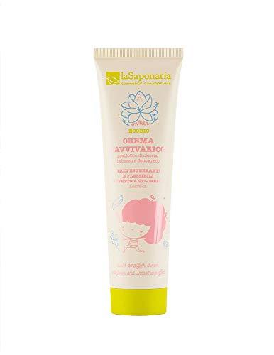 Crema Ravviva Ricci La Saponaria 150 ml per capelli mossi e/o ricci trattamento leave-in modellante