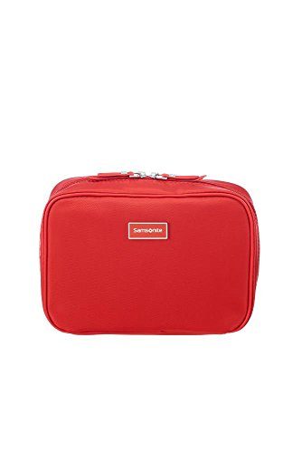 Samsonite Karissa Cosmetic Cases - Borsa per Trucchi, 22 cm, Rosso (Formula Red)