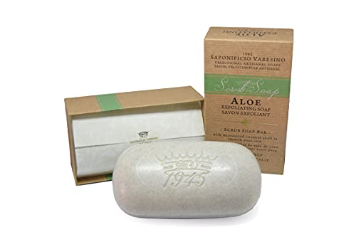 Saponificio Varesino - Saponetta Scrub Aloe - 300 g