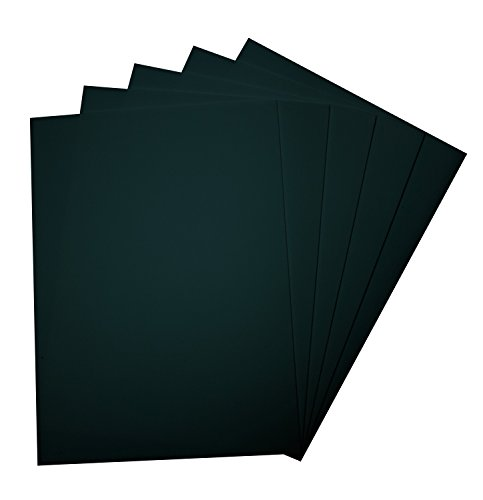 Folia 23590 - gommapiuma 29 x 40 cm, 5 fogli, nere