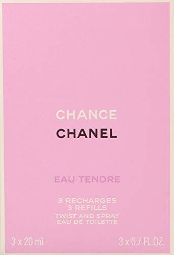 Chance Eau Tendre CHANEL Eau de Toilette Ricarica 3x20 ml