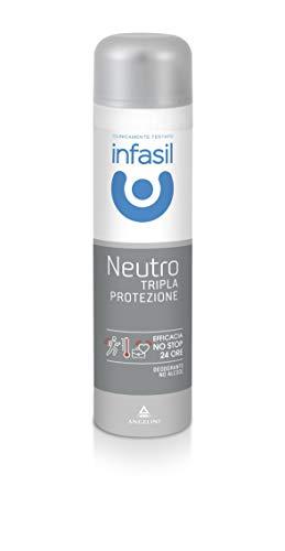 Infasil Tripla protezione neutro 48h Deodorante spray 150 ml