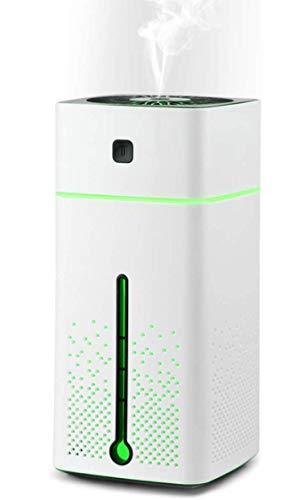 Diffusore di aromi per umidificatore ad ultrasuoni, JOLVVN 1000ML diffusore di aromaterapia per oli essenziali lampada di fragranza con 7 colori LED luce d'atmosfera