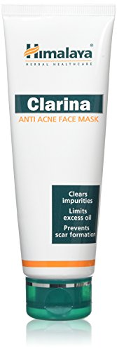 Himalaya Clarina anti acne Face Mask, 75 ml