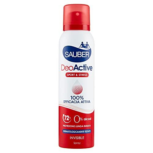 Sauber Deodorante Deoactive Spray - 150 Ml