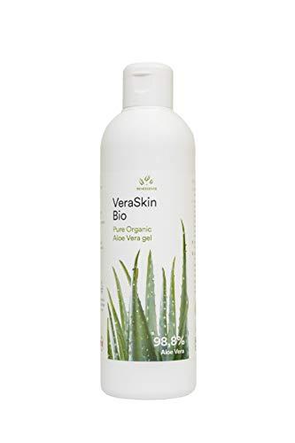 Benessence - Puro Gel Biologico di Aloe Vera - Rinfrescante e Lenitivo - Dermatologicamente Testato - 250 ml