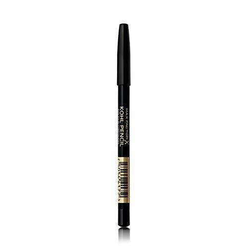 Max Factor, Matita Occhi Kohl Eyeliner Pencil, Kajal con Texture Morbida, 020 Black, 1,2 g