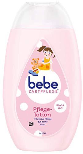 Bebe Lozione delicata per il corpo | delicata lozione per il corpo per bambini | cura delicata del corpo con piacevole profumo – 1 x 300 ml