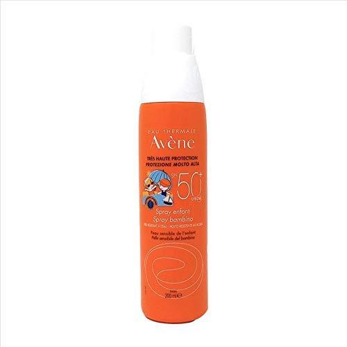 Avene Eau Thermale Spray Bambino, Protezione solare SPF50+, 200 ml