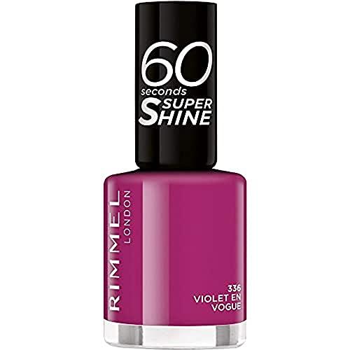 Rimmel 60secondi Super Shine Smalto per unghie Flip Flop 336, 8 ml