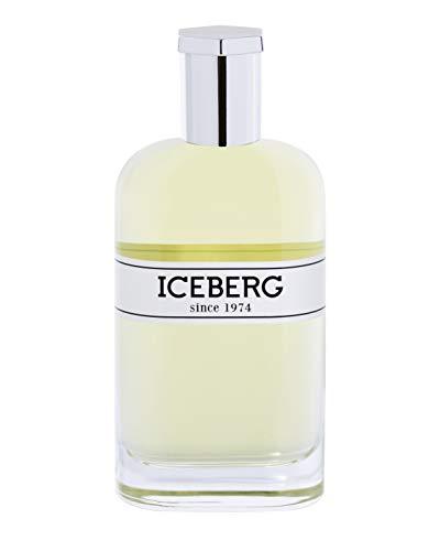 Iceberg Since 1974 For Him Eau de Parfum in formato da 100 ml, Fragranza floreale maschile nata dalla combinazione di note aromatiche, speziate, fruttate e legnose, Packaging originale e d'impatto.