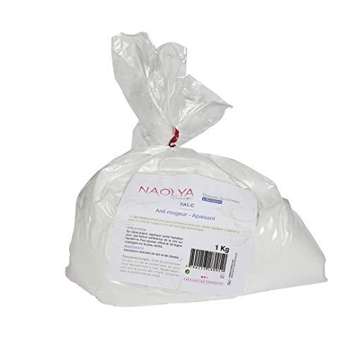 Naolya Talc – non profumato, 100% naturale, ricarica 1 kg
