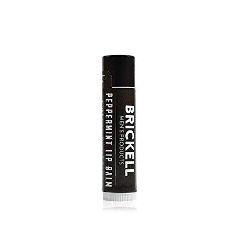 Brickell Men's Products Balsamo Labbra non Lucido - 443 ml - Naturale ed Organico