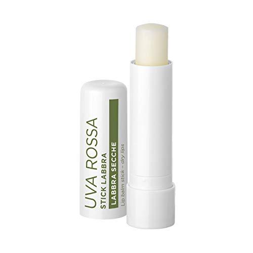 Bottega Verde, Uva Rossa - Stick labbra, antieta protettivo con estratto di Uva Rossa di Tenuta Massaini (5 ml) - labbra secche