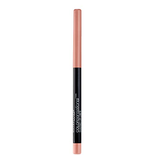Maybelline New York Color Sensational Shaping Lip Liner Matita Labbra, Effetto Volumizzante, 10 Nude Whisper